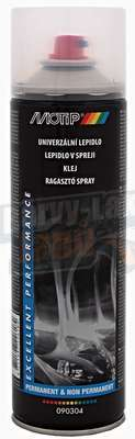 Lepidlo ve spreji 500ml Motip