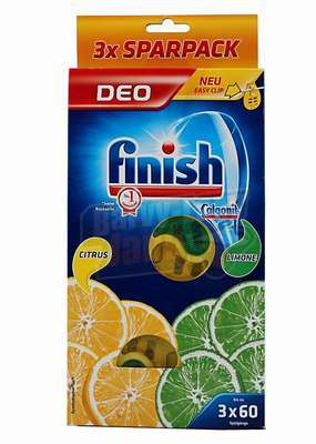 Finish Vůně do myčky 3ks Citrus/Limetka
